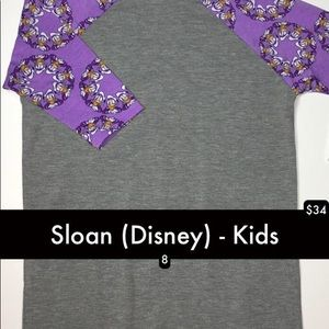 Disney Sloan kids LuLaRoe NWT Donald Duck